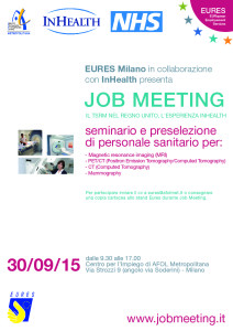 Locandina Job Meeting In Health con foto senza data-01